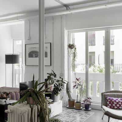 Nueva vida para un piso con una distribución moderna