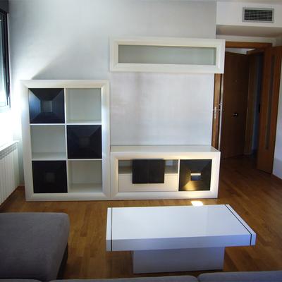 Salón-mueble televisión