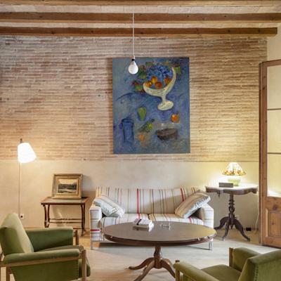 Un piso modernista que venera su pasado