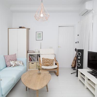 Vivienda Ventas: Un piso de estilo vintage con destellos turquesas