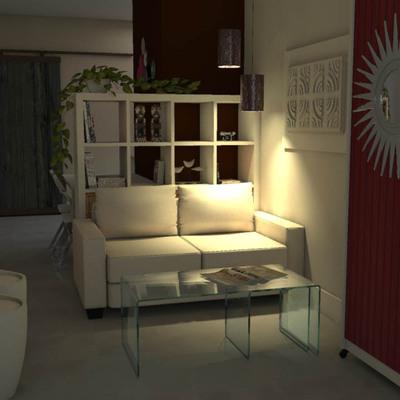 Transformando un salón-comedor con cocina integrada