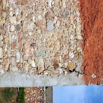 Santiago Cristobal 2009- Arreglo y anclaje de fachada 1