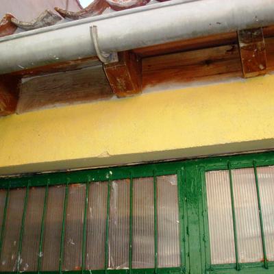 Santiago Cristobal- reparacion de aleros en garaje-segovia