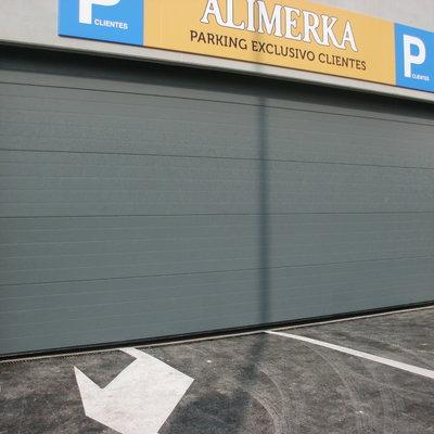 Portón Alimerka