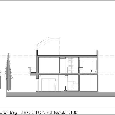 Diseño vivienda unifamiliar aislada