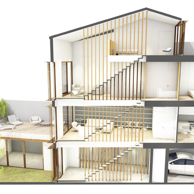 Construcción de vivienda en Terrassa