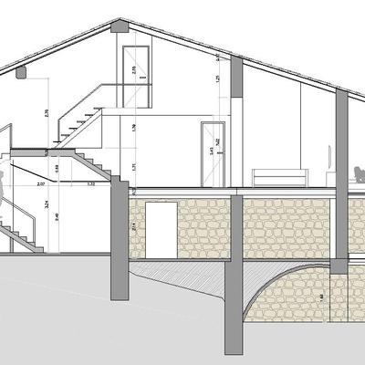 Reforma integral de una masia en la Garrotxa
