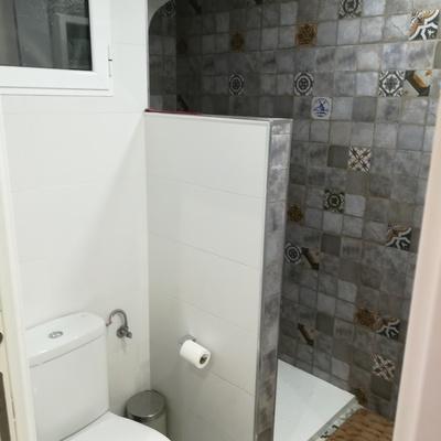 Separación ducha