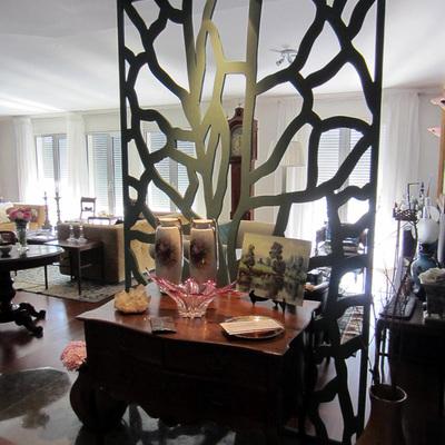 Separador de ambientes con Celosía En Villa de Lisboa