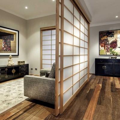 Ideas y fotos de separadores de ambientes de madera en valencia para inspirarte habitissimo - Estanterias separadoras de ambientes ...