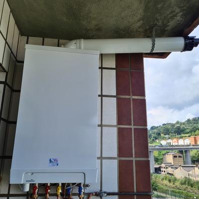 Cambio de caldera estanca, por Intergas Kombi Kompakt HR-28/24