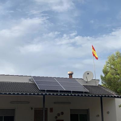Instalacion solar de inyeccion a la red