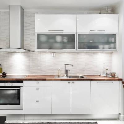 Ideas y fotos de gresite blanco para inspirarte habitissimo - Gresite para cocinas ...