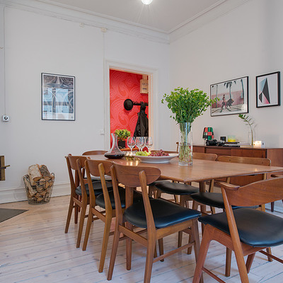 Un apartamento de 80 m2 donde se mezclan 3 estilos