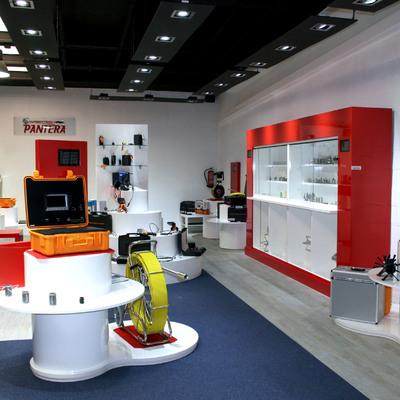 Show room de  materiales construcción en Madrid