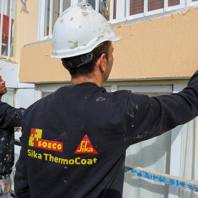 Aislamiento térmico para fachadas que permite ahorrar hasta un 35% en energía