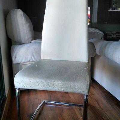 Tresillo+sillas de comedor