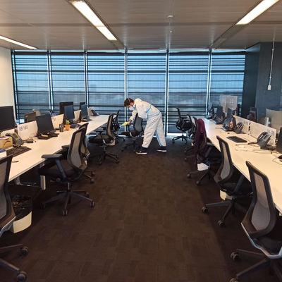 Higienizado y desinfección de oficinas