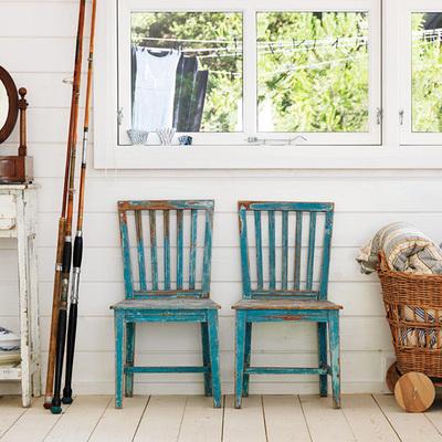 Ideas y fotos de espejo ovalado para inspirarte habitissimo - Silla de pescar ...