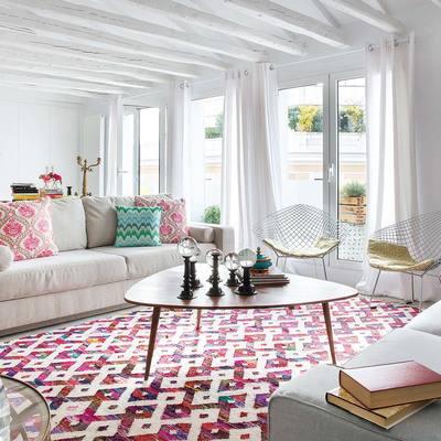 Ideas y fotos de alfombra motivos geom tricos para for Alfombras motivos geometricos
