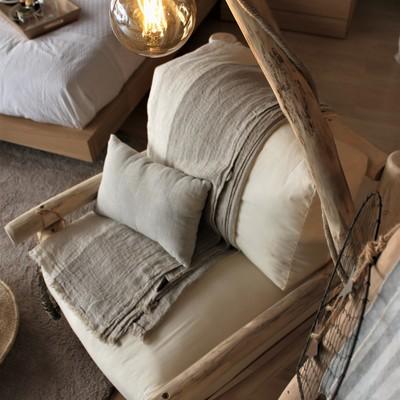 Dormitorio de estilo nórdico