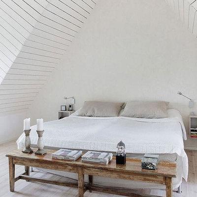 Ideas y fotos de dormitorio sin cabecero para inspirarte - Camas sin cabecero ...