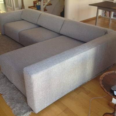 Retapizado sofá modelo Italiano