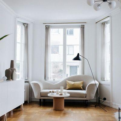 Un piso en Oslo que combina con éxito lo vintage y lo moderno