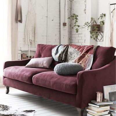 sofa marsala