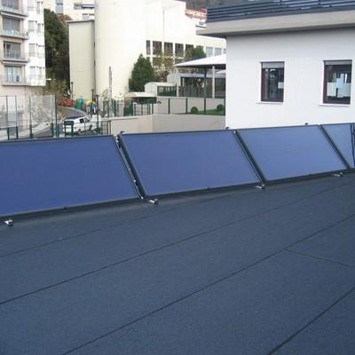 Instalación Solar Térmica en Colegio de Pasaia.