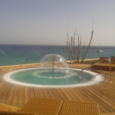 Spa publico para 12 personas Hotel QX el Palacete Fuerteventura Morro Jable