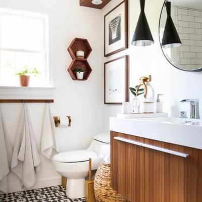 Cómo reformar el baño sin quitar los azulejos