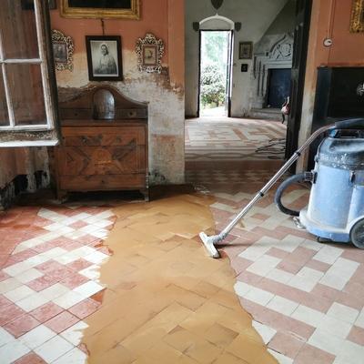Pulido y restauración de pavimentos modernistas