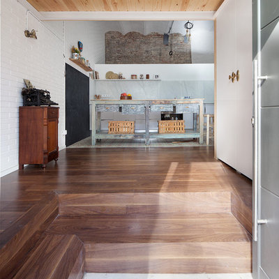 Suelo de madera natural