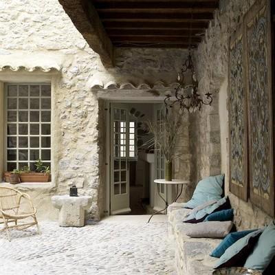 suelo piedra terraza