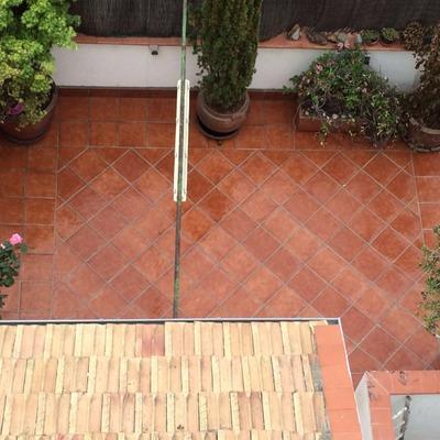 Solado e impermeabilización de terraza en Madrid