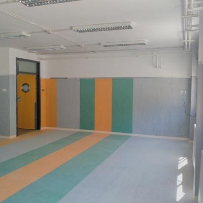 Suelos PVC colegio José Alba Vilavella, Castellón.