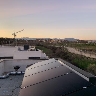 Autoconsumo fotovoltaico en Colmenar Viejo.