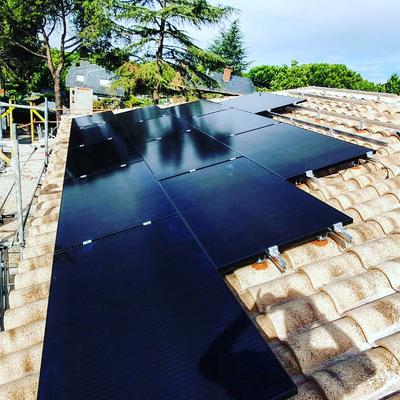 Instalación de Autoconsumo fotovoltaico en Boadilla del Monte.