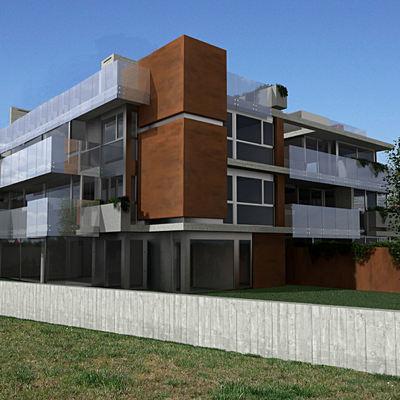Edificio residencial en Corbán