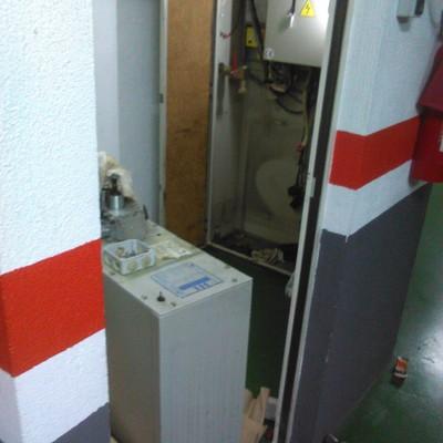 Reformas y reparaciones en aparatos elevadores