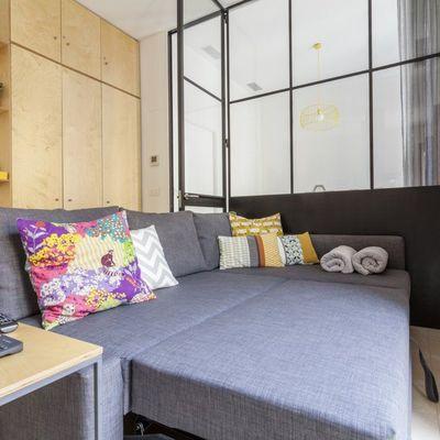7 ideas para crear un dormitorio en un estudio