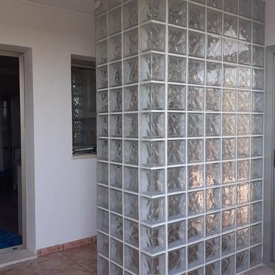 Tabique de vidrio