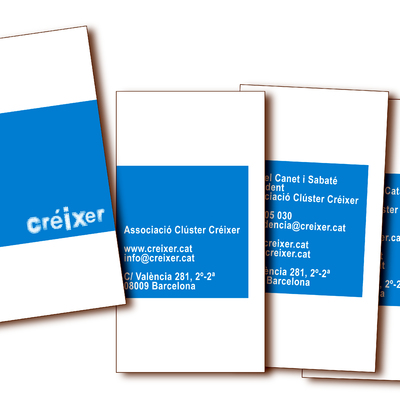 tarjetas de visita Creixer