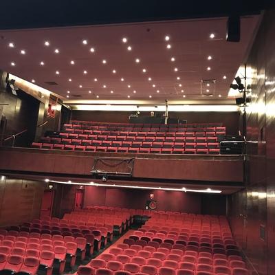 Instalación de iluminación Teatro bellas artes de Madrid.