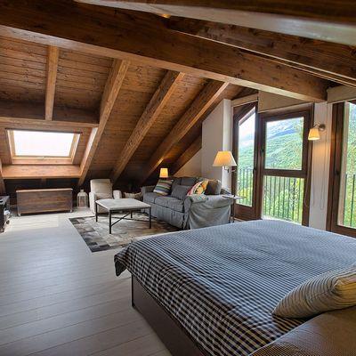 Cómo disimular los techos bajos