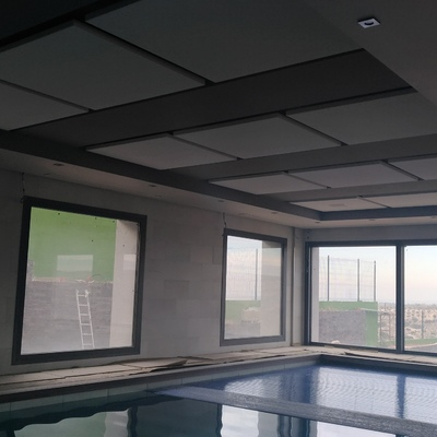 Techo de piscina climatizada