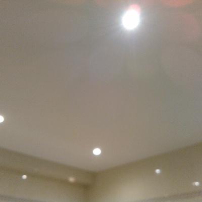 Reemplazar techo de cañizo en un baño por uno de pladur anti-humedad y pintar con pintura anti-humedad
