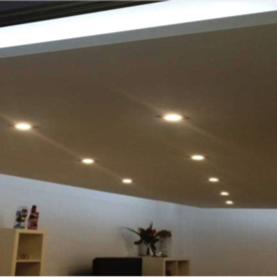 Techos Decorativos e iluminacion en piso