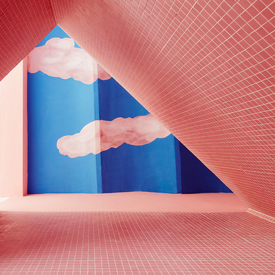 Vivir en un sueño: una casa llena de colores y formas